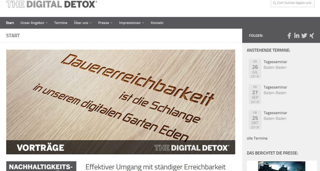 The Digital Detox - Effektiver Umgang mit ständiger Erreichbarkeit